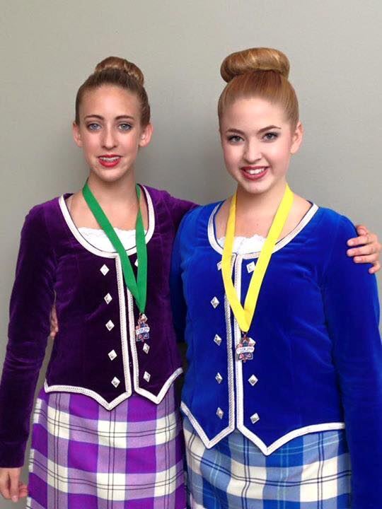 Tampa Bay Highland Dancer Medal Photo