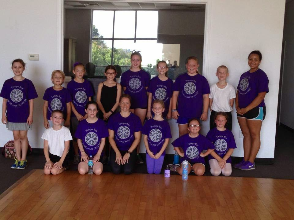 highland dance summer camp group