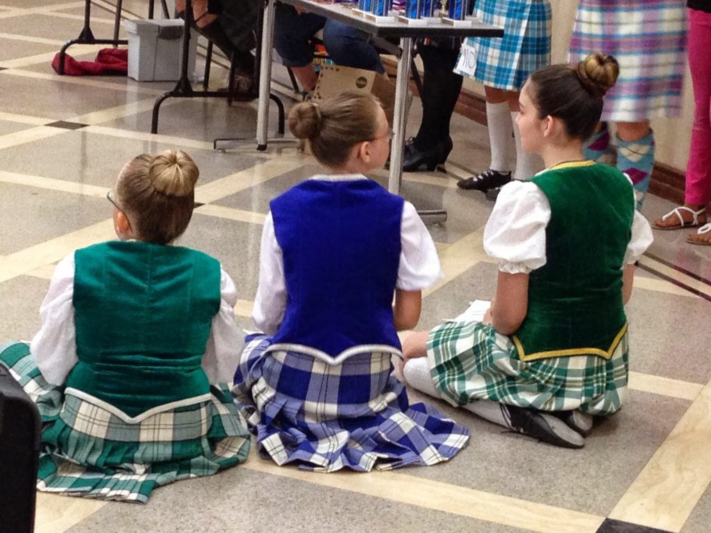 what can highland dance do for the community