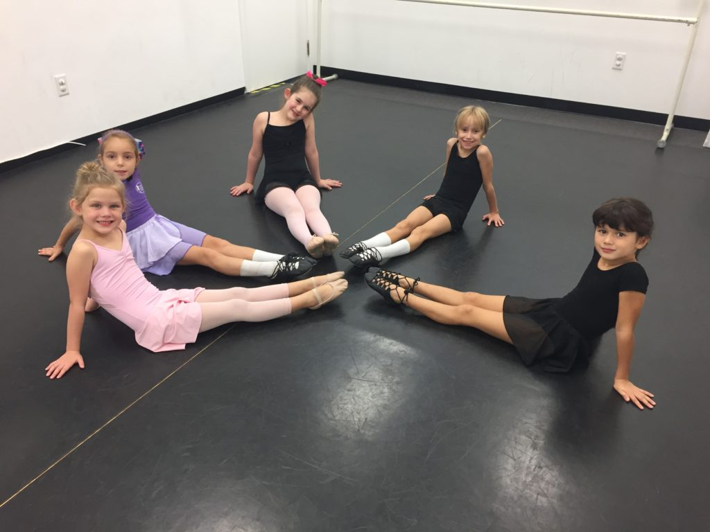 Dancers in studio